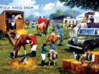 Horse Show - 500pc Jigsaw Puzzle By Sunsout