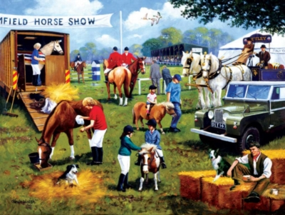 Jigsaw Puzzles - Horse Show
