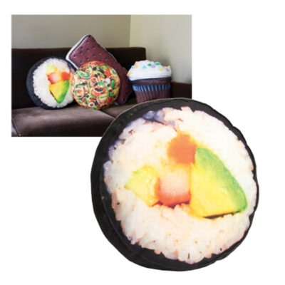 YummyPillows, Sushi - 100% Polyester Pillow