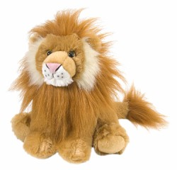 Lion - 10&quot; Cuddlekins Lion By Wild Republic