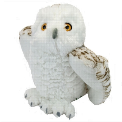 "Snowy Owl - 10.5"" Cuddlekins Owl By Wild Republic"
