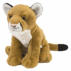 "Mountain Lion - 12"" Cuddlekins Wildcat By Wild Republic"