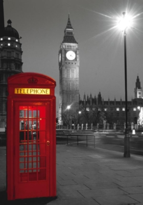 London Phone Box - 500pc Jigsaw Puzzle By Clementoni