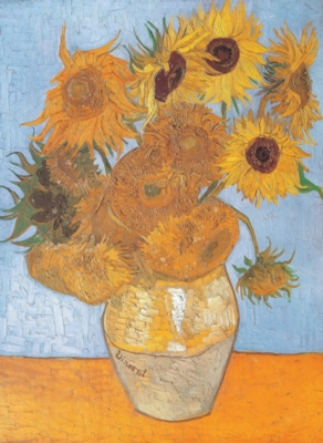 Van Gogh: Sunflowers - 1000pc Jigsaw Puzzle By Clementoni