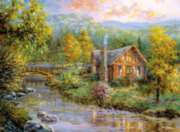 Peaceful Grove - 4000pc Jigsaw Puzzle By Clementoni