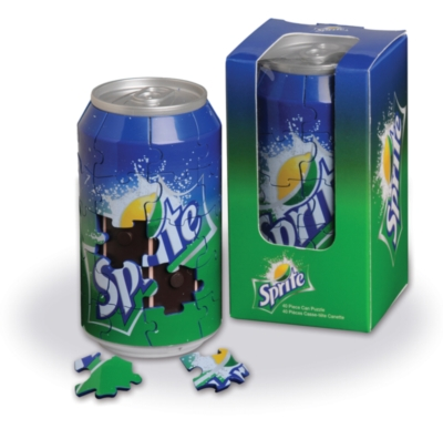 3D Sprite Can - 40pc Jigsaw Puzzle by Springbok