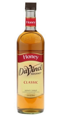 Davinci Gourmet Sweetener: Honey - 750ml Glass Bottle