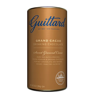 Guittard Cocoa: Grand Cacao Drinking Chocolate - 10oz Can