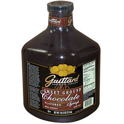 Guittard Sauce: Sweet Ground Chocolate - 90oz Jug