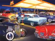 Classics: Ted's Drive-In - 500pc Jigsaw Puzzle in Tin by Masterpieces