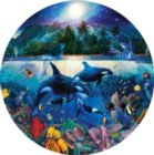 Majestic Kingdom - 700pc Round Jigsaw Puzzle by Masterpieces