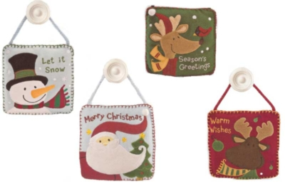 "Yuletime Decorations - 5"" Hanging Decorations by Gund"