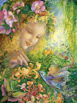 Jigsaw Puzzles - Josephine Wall: Honeysuckle