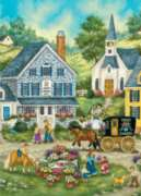 Worlds Smallest: Afternoon Treats - 1000pc Jigsaw Puzzle in Tin by Masterpieces