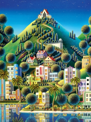 Jigsaw Puzzles - Worlds Smallest: Hidden Village