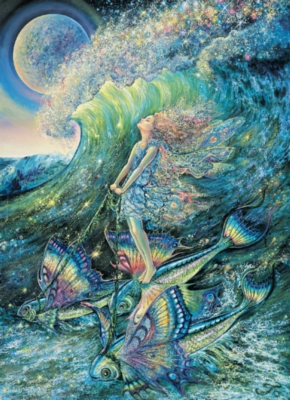 Josephine Wall: Surfer's Dream - 1000pc Jigsaw Puzzle in Tin by Masterpieces