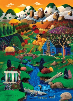 Jigsaw Puzzles - Worlds Smallest: Shady Creek