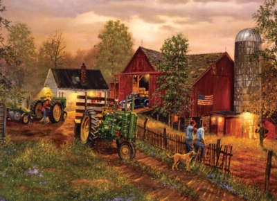 America's Heartland - 1000pc Jigsaw Puzzle by Masterpieces