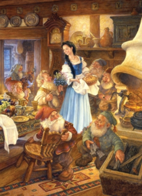 Jigsaw Puzzles - Snow White and the Seven Dwarfs