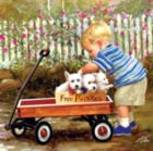 Puppy Love - 1000pc Jigsaw Puzzle by Masterpieces
