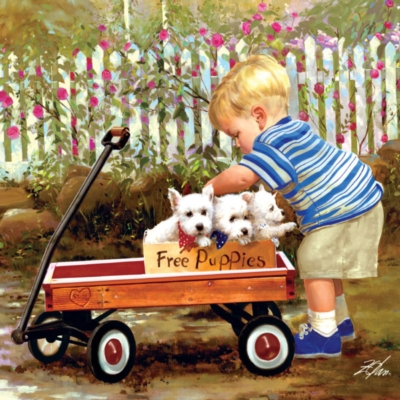 Jigsaw Puzzles - Puppy Love