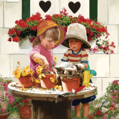 Little Potters - 1000pc Jigsaw Puzzle by Masterpieces