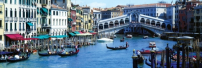 Venice, Italy - 1000pc Panoramic Jigsaw Puzzle by Masterpieces