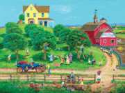 Large Format Jigsaw Puzzles - Apple Time