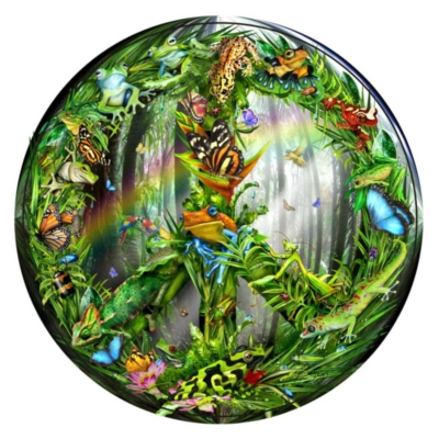 Jigsaw Puzzles - Peace-ful Rainforest