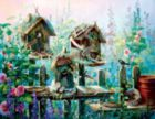 Birdhouse Row - 1000pc Large Format Jigsaw Puzzle By Sunsout