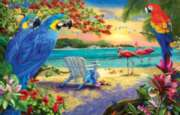 Secluded Beach - 1000pc Jigsaw Puzzle By Sunsout