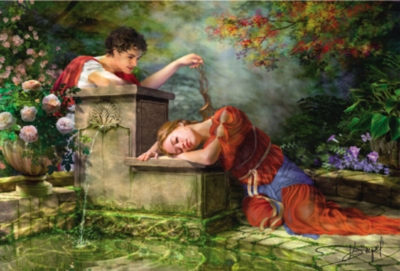 While She Was Sleeping - 8000pc Jigsaw Puzzle By Educa