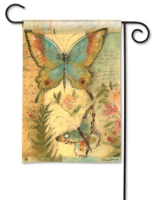 Butterfly Trail - Garden Flag by Magnet Works