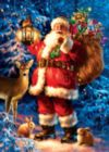 Woodland Santa - 500pc Jigsaw Puzzle by Masterpieces