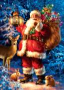 Jigsaw Puzzles - Woodland Santa