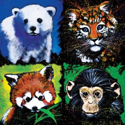 Jigsaw Puzzles - Wild Babies