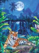 Eyes of the Tiger - 500pc Jigsaw Puzzle by Masterpieces