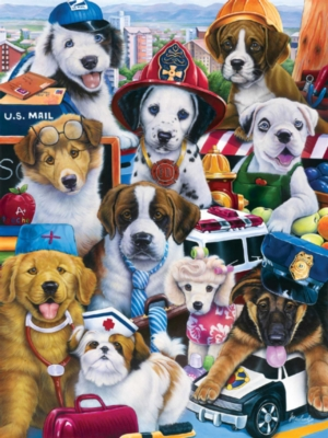 Jigsaw Puzzles - Working Pups
