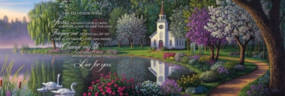 Salvation Poem - 1000pc Panoramic Puzzle by Masterpieces
