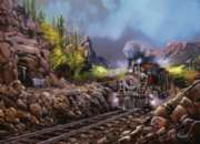 Steaming Through Rio Verde Canyon - 1000pc Jigsaw Puzzle by Masterpieces