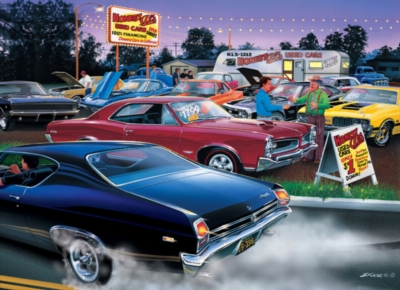 Honest Al's Used Cars - 1000pc Jigsaw Puzzle by Masterpieces