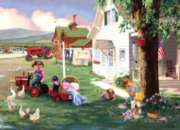 Country Chores - 1000pc Jigsaw Puzzle by Masterpieces