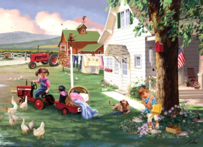 Jigsaw Puzzles - Country Chores