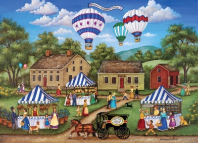 Blueberry Festival - 1000pc Jigsaw Puzzle by Masterpieces