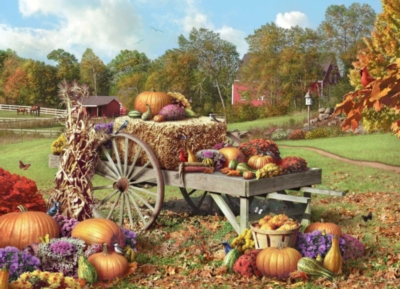 Autumn Treasures - 1000pc Jigsaw Puzzle by Masterpieces