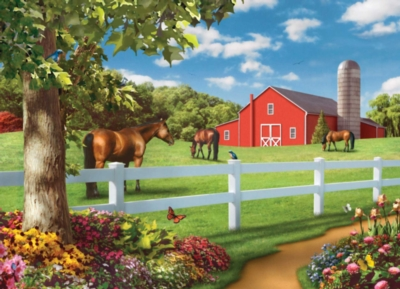 Pastures of Chance - 1000pc Jigsaw Puzzle by Masterpieces