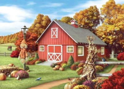 Harvest Breeze - 1000pc Jigsaw Puzzle by Masterpieces