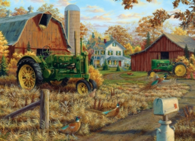 Autumn Gold - 1000pc Jigsaw Puzzle by Masterpieces