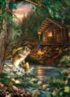 Gone Fishing - 1000pc Jigsaw Puzzle by Masterpieces