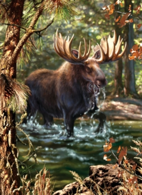 Jigsaw Puzzles - Moose Crossing